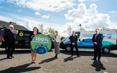 Green Energy:  NI Water working with local SME, Continu, to harness the benefits of Battery Energy Storage technology